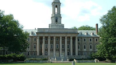 The campus of Penn State University in State College, Pa. Credit: Wikimedia Commons.