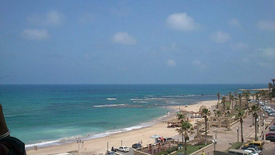 Givat Aliyah Beach (Ajami beach). Credit: Danny Saville via Wikimedia Commons.