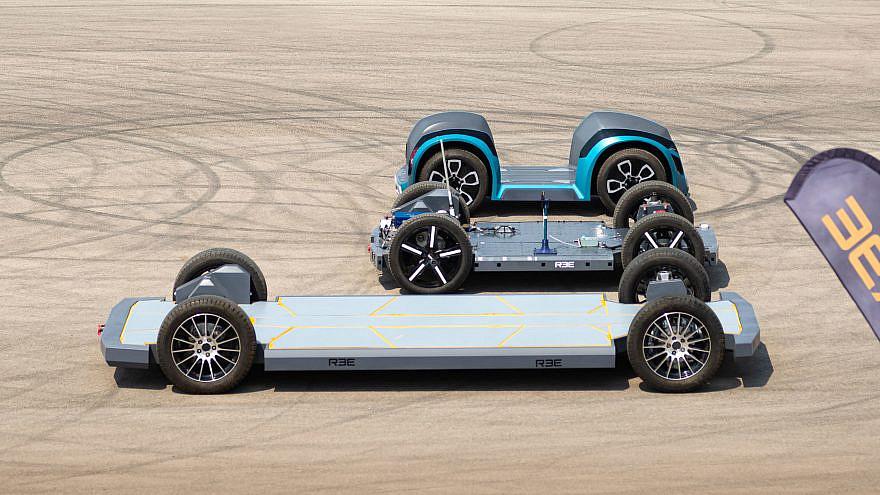 REE's EV platforms. Credit: REE Automotive.
