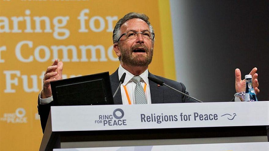 Rabbi David Rosen, international director of interreligious affairs at the American Jewish Committee. Credit: Courtesy.