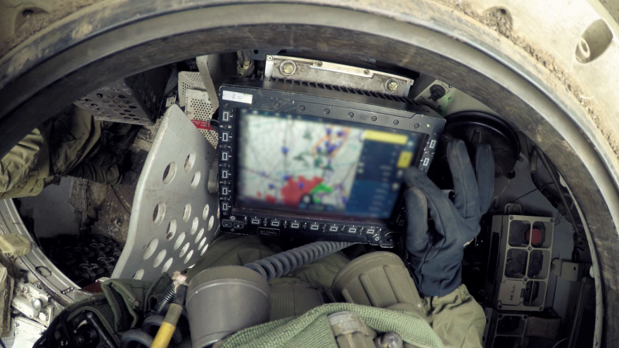 The Torch-X combat network system. Credit: Courtesy of Elbit Systems.