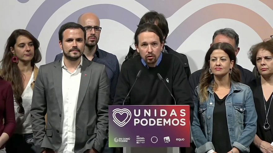 The Unidas Podemos Party. Credit: Wikimedia Commons