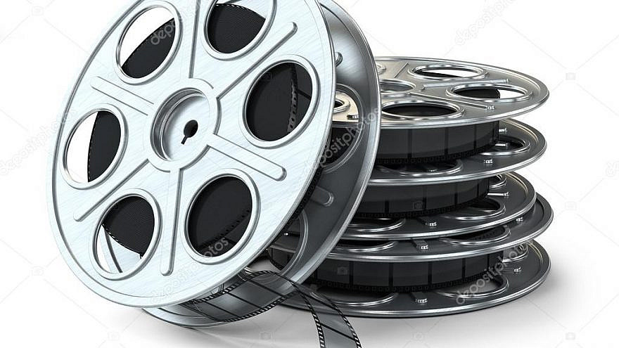 Movie reels. Credit: Aleksanderdnp via Wikipedia.