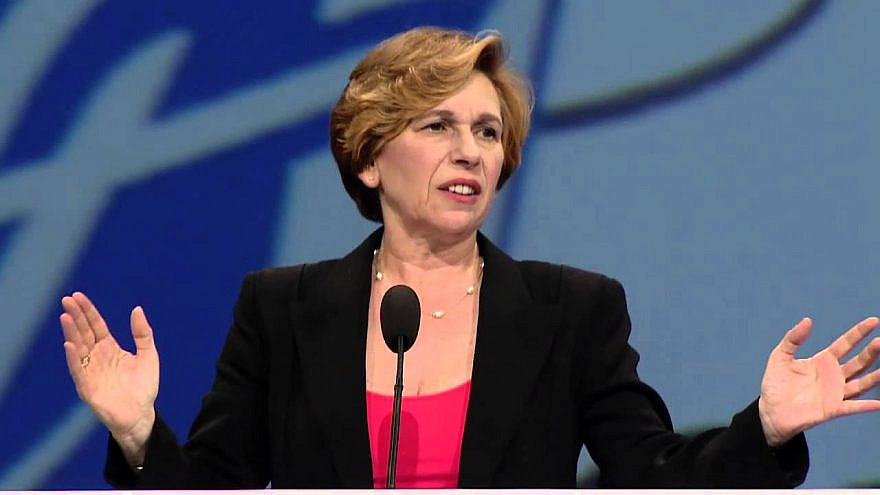 Randi Weingarten in 2014. Source: Screenshot.