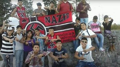 Young Latin Americans expressing support for Nazism uncovered by Argentinian journalist Julio Lopez. Source: Screenshot.