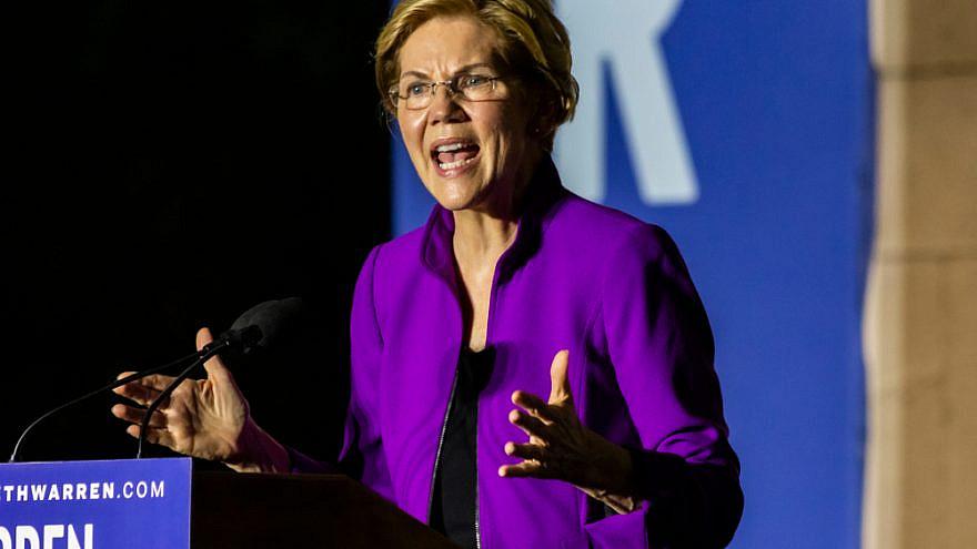 U.S. Senator Elizabeth Warren during her presidential campaign in 2019. Credit: David Garcia/Shutterstock.