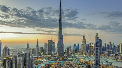 Dubai skyline in 2017. Credit: Umar Shariff/Shutterstock.
