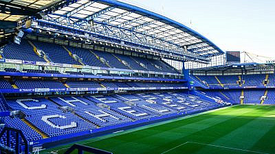 Chelsea stadium, home to Chelsea FC, one of the clubs originally involved in the European Super League. Credit: Hanafi Latif/Shutterstock.