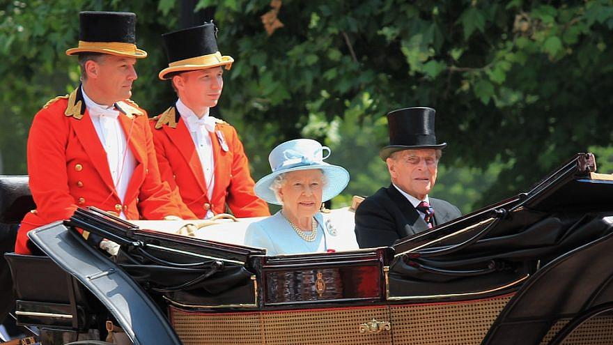 Queen Elizabeth II and Prince Philip in London, June 2017. Credit: Lorna Roberts/Shutterstock.