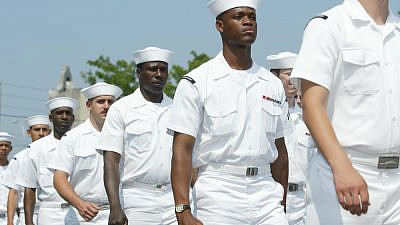 U.S. Navy sailors. Credit: Anthony Correia/Shutterstock.