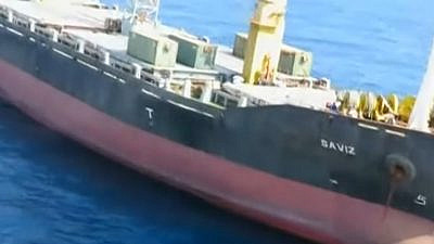 The Iranian-flagged vessel MV Saviz, 2018. Source: Screenshot.