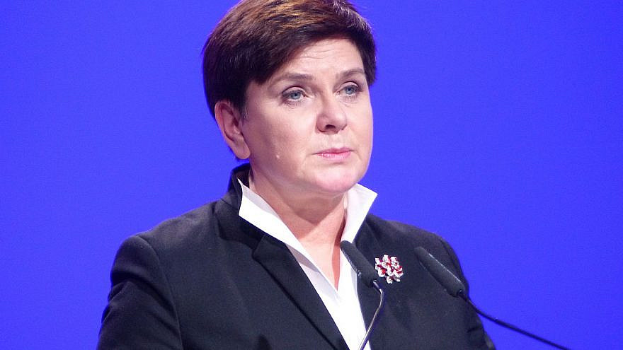 Former Polish Prime Minister Beata Szydlo. Credit: Wikimedia Commons.