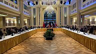 Negotiations in Vienna over the Joint Comprehensive Plan of Action (JCPOA), the existing Iran nuclear deal, May 2021. Source: Enrique Mora/European External Action Service/Twitter.