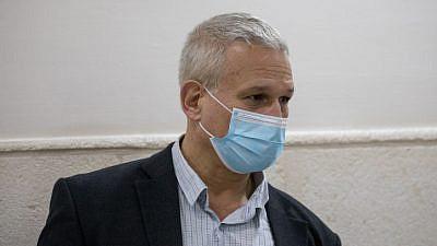 Dr. Chen Kugel, chief pathologist of the Abu Kabir Institute of Forensic Medicine, arrives at the Jerusalem District Court, Dec. 1, 2020. Photo by Yonatan Sindel/Flash90.