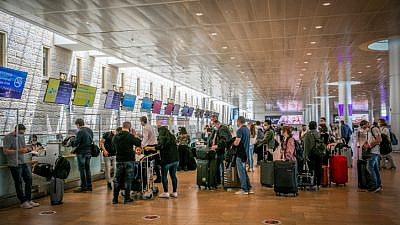 Ben-Gurion International Airport, April 18, 2021. Photo by Yossi Aloni/Flash90.