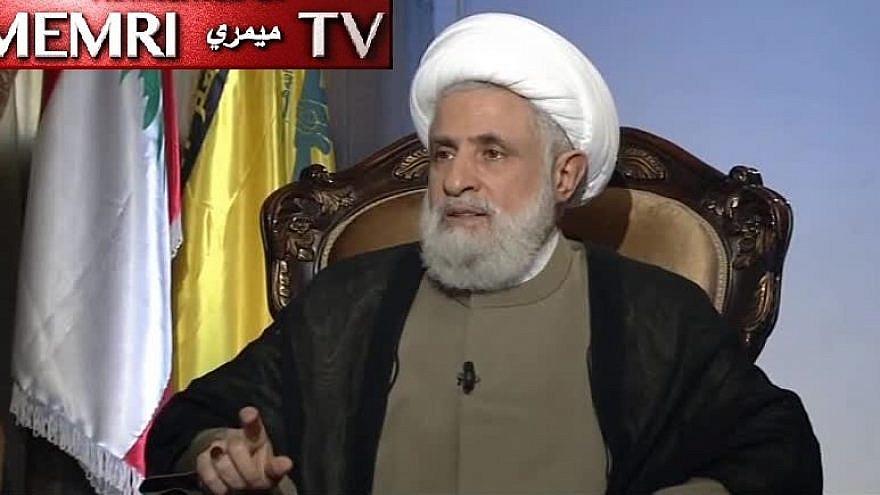 Naim Qassem, Hezbollah deputy secretary-general. (MEMRI)