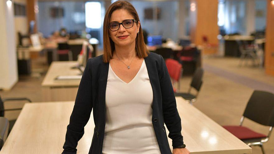 Mona Khoury-Kassabri. Photo by Bruno Charbit.