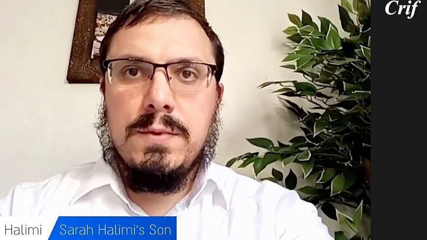 Yonatan Halimi, Sarah Halimi's son. Credit: Courtesy.
