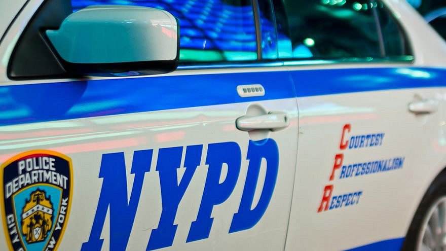 An NYPD police cruiser. Credit: Marco Curaba/Shutterstock.