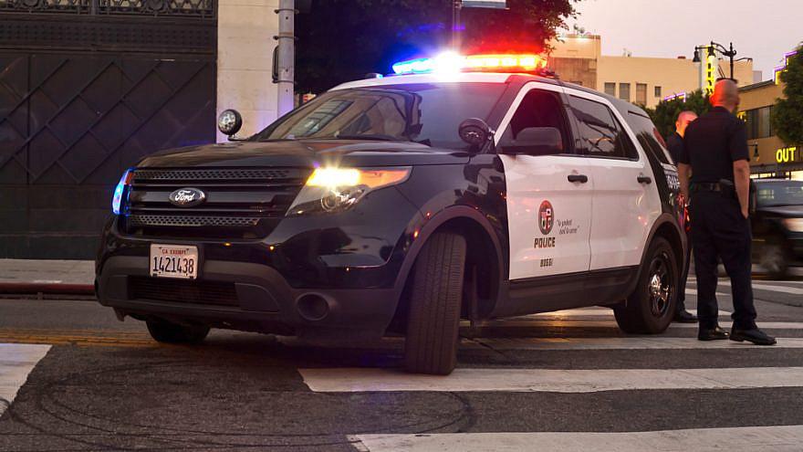 A Los Agneles Police Department patrol car. Credit: Elliott Cowand Jr./Shutterstock.