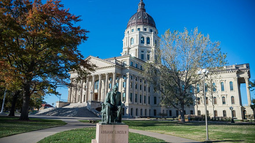 Kansas State Capitol building in Topeka. Credit: APN Photography/Shutterstock.