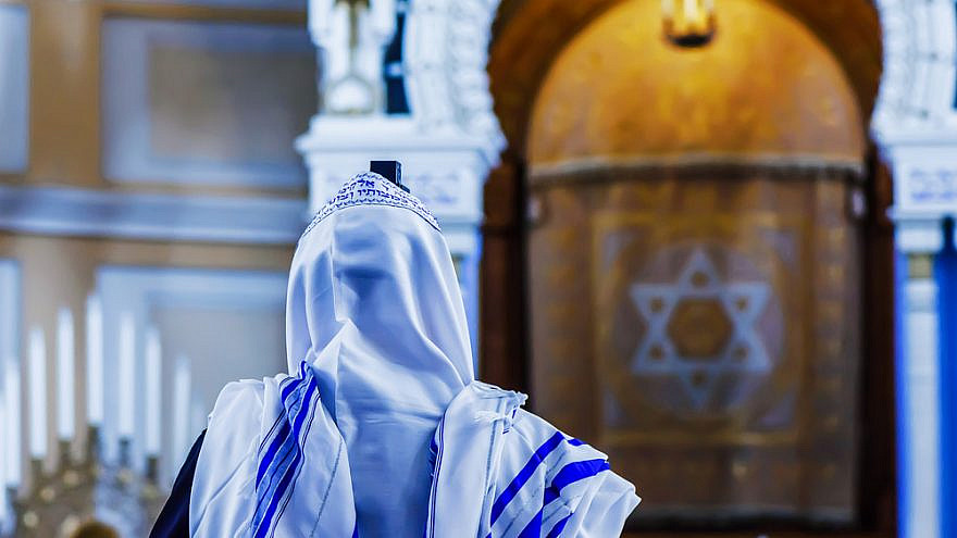 The return to synagogue post-COVID has been accompanied by a range of emotions. Credit: Tali V./Shutterstock.