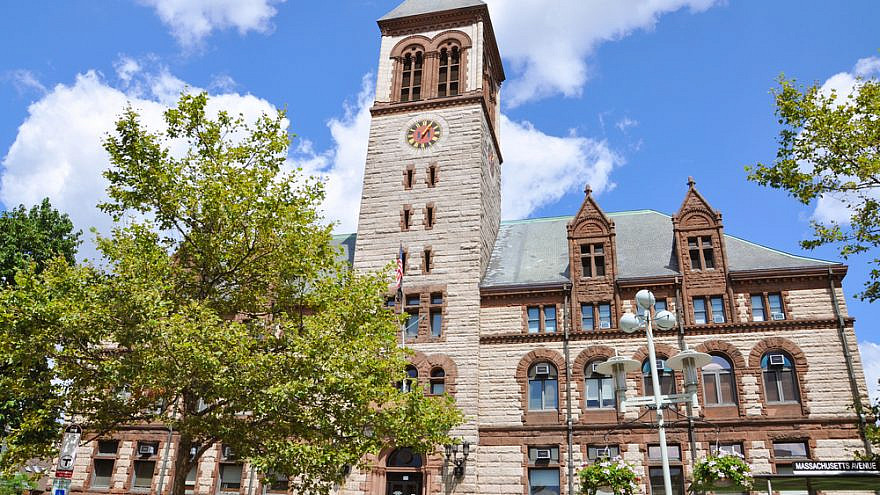 Cambridge City Hall in Massachusett. Credit: Wangkun Jia/Shutterstock.