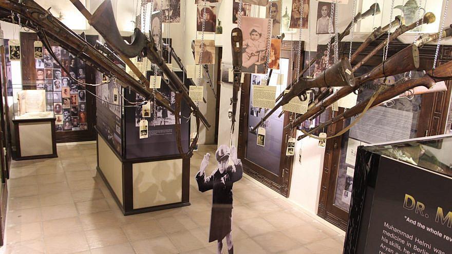 The new Holocaust exhibit at Dubai's Crossroads of Civilizations Museum. Source: Crossroads of Civilizations Museum/Facebook.