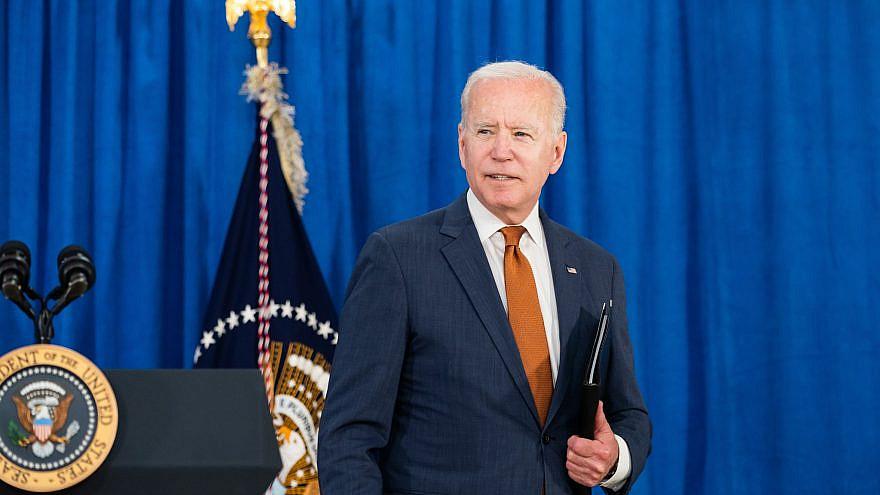 U.S. President Joe Biden on June 4, 2021. Source: POTUS/Facebook.
