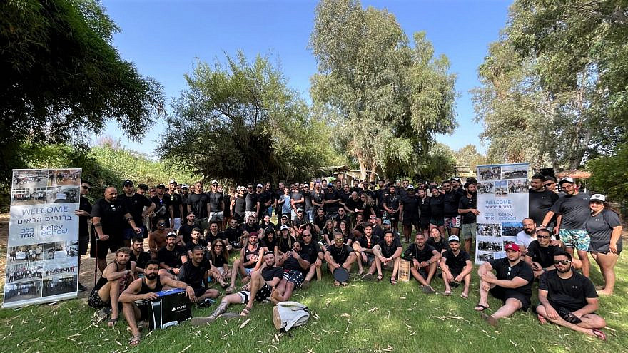 A total of 150 soldiers spent a weekend at the Ramot Hotel Resort in Jerusalem, courtesy of Belev Echad, May 2021. Photo by Bentzi Sasson.