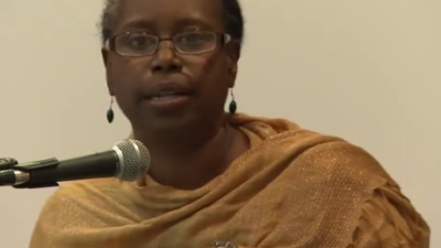 Former Georgia congresswoman and Green Party presidential candidate Cynthia McKinney. Credit: Wikimedia Commons.