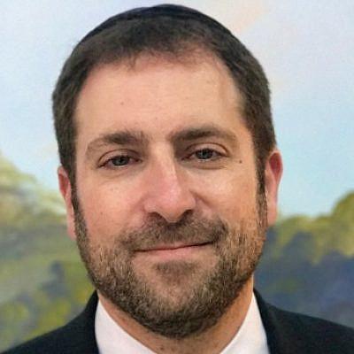 Rabbi Elliot Mathias. Source: LinkedIn.