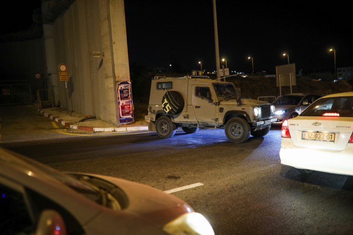 IDF forces thwart terror attack in Judea and Samaria; Palestinian suspect shot