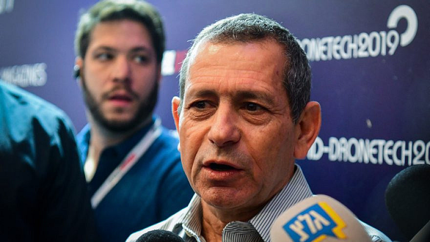 Shin Bet chief Nadav Argaman visits at the 8th International UVID Conference at the Avenue Convention Center in Airport City, Nov. 7, 2019. Photo by Flash90.