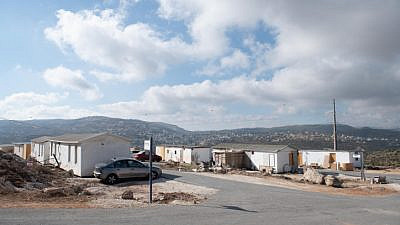 A view of the Evyatar community, in northern Samaria, on June 16, 2021. Photo by Sraya Diamant/Flash90.
