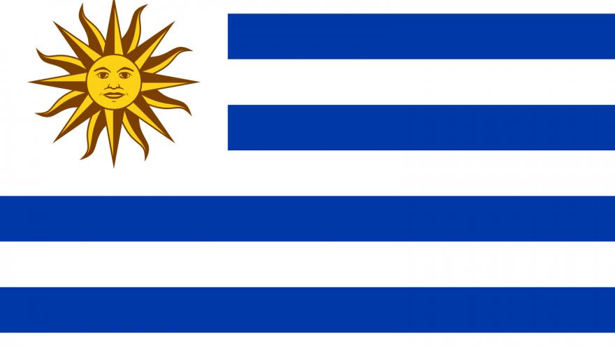 Flag of Uruguay. Credit: Wikimedia Commons.
