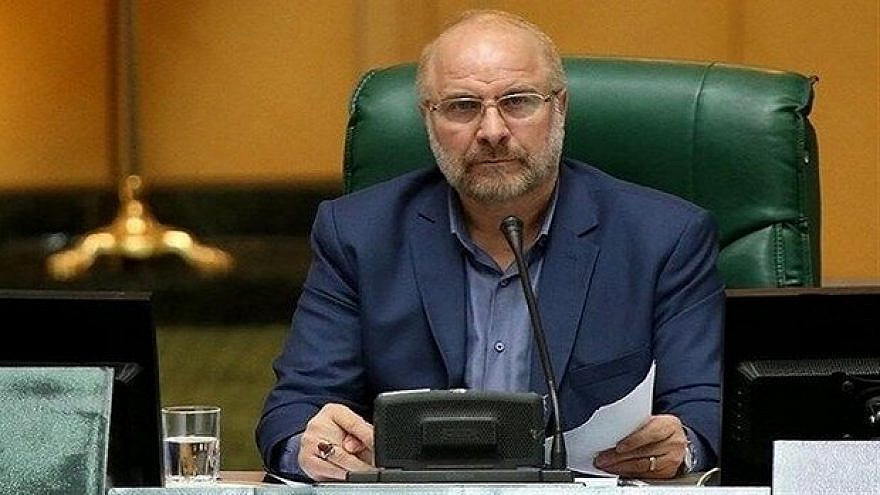Iranian Parliament Speaker Mohammad Bagher Qalibaf, June 2021. Credit: Tehran Times.