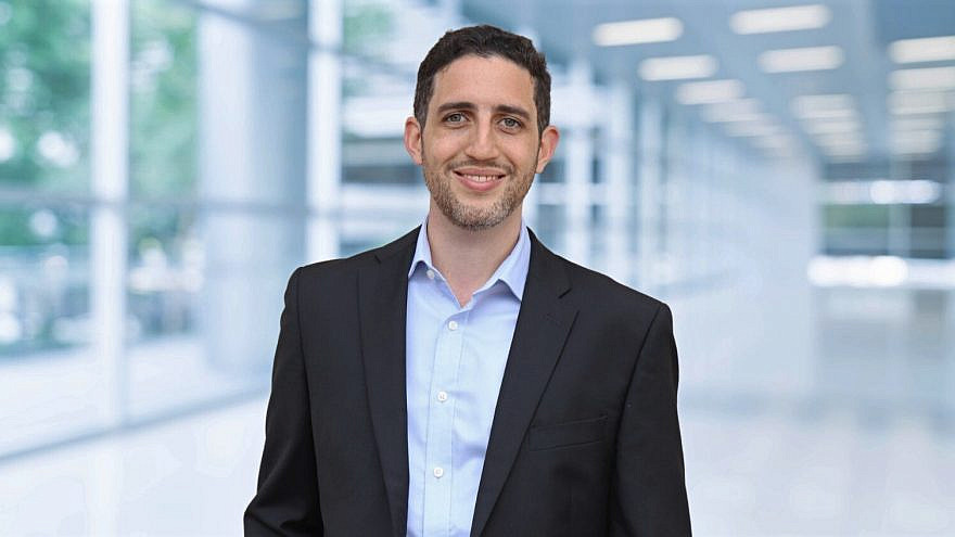 Jonathan Cohen, an associate at Catalyst Investments. Photo by Ciona Shaked.
