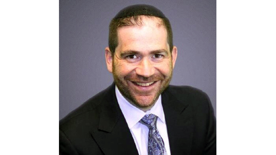 NCSY's national director of major gifts, Rabbi Moshe Isenberg