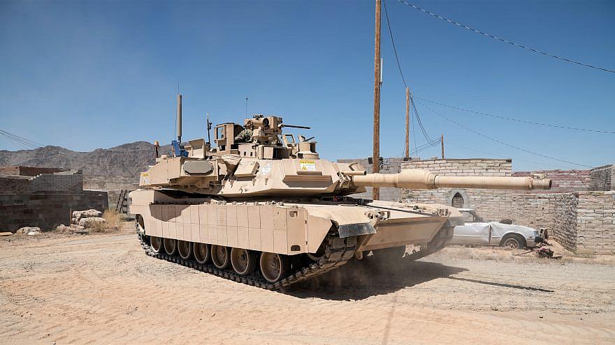 Rafael's trophy on four U.S. Army Abrams main battle tank brigades. Credit: Rafael.