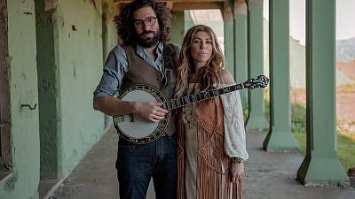 Nefesh Mountain duo Eric Lindberg and Doni Zasloff. Credit: Courtesy.