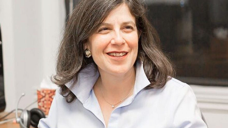 Rabbi Jan Uhrbach, who was recently named interim dean of the rabbinical school of the Jewish Theological Seminary of America (JTS), the conservative movement's flagship seminary. Credit: Courtesy.