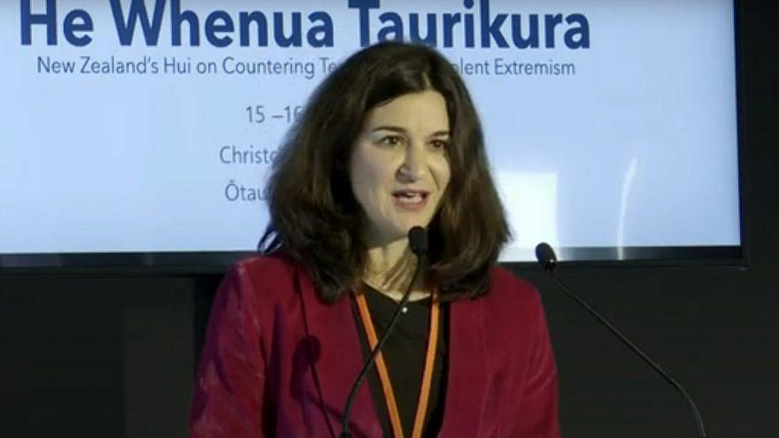 Juliet Moses, spokesperson for the New Zealand Jewish Council. Source: Screenshot.