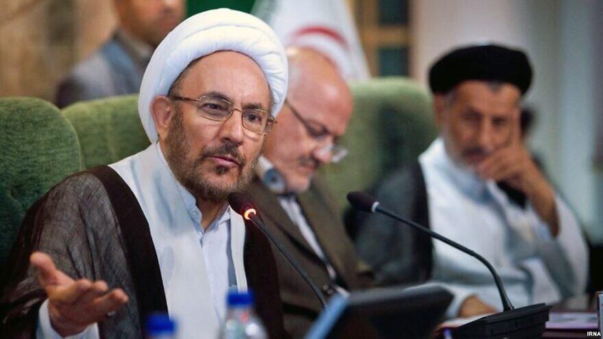 Former Iranian intelligence minister Ali Younesi. Credit: Tehran Times.