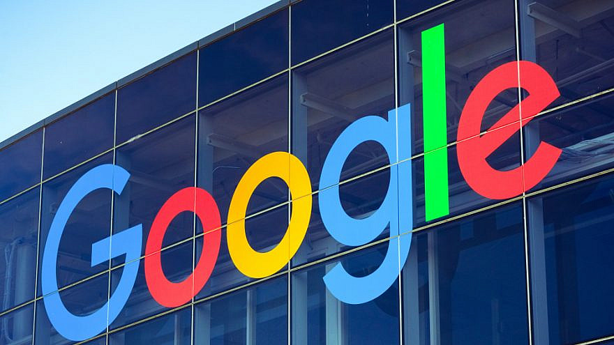 The Google logo on one of the buildings of Googleplex, the company's main campus in Silicon Valley. Credit: Sundry Photography/Shutterstock.