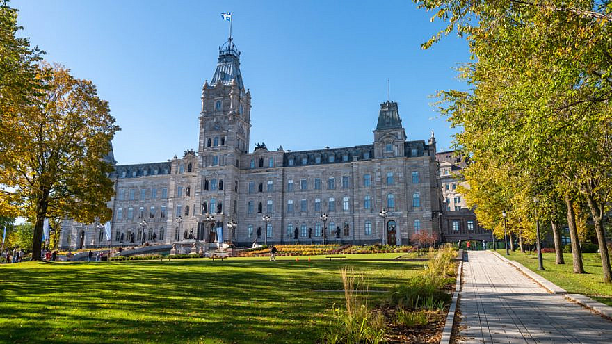 The national assembly in Quebec City, Canada. Credit: Marc Bruxelle/Shutterstock.