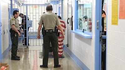 A prisoner in Nogales, Ariz. Credit: Rebekah Zemansky/Shutterstock.
