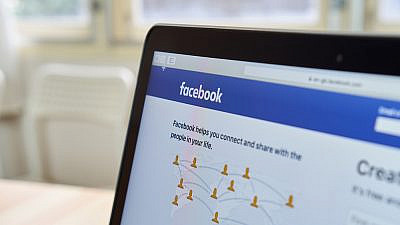 A view of Facebook's website. Credit: Shutterstock.