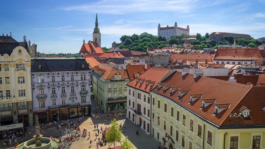 Old Town of Bratislava, Slovakia, June 11, 2017. Credit: Rob Hurson from Kentstown, Ireland via  Wikimedia Commons.