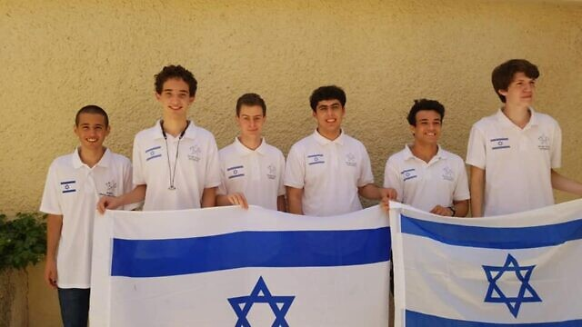 Israeli high school students at the 62nd International Math Olympiad (IMO) in St. Petersburg, Russia. Source: Facebook.